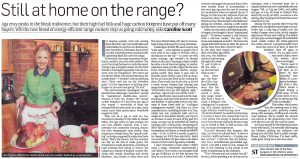 Sunday Times - Thornhill Range Cookers